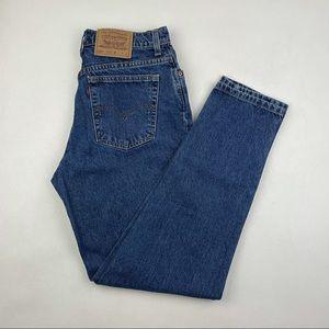 Vintage Levi's 551 High Waist wedgie jeans